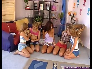 5 Amigas Lesbianas 5 friends lesbians