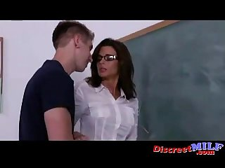 Nerdy Teacher is a Dirty MILF