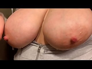 BIG WET TITS TIED AND TUGGED