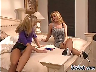 Tawny and Nina get it on in the bedroom