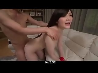 Rie tachikawa comma obedient milf comma endures cock in her twat from javz period se