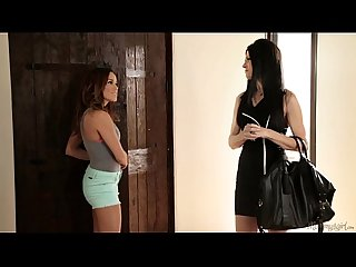 Hey, what are you doing on my mom's bed? - India Summer, Megan Rain