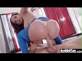 Anal Sex Scene With Hot Big Butt Oiled Girl (Nikki Benz) video-25