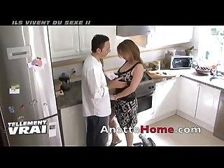Un couple francais chez eux pour les voyeurs