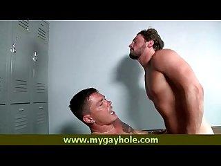Hot men bareback sex video 6