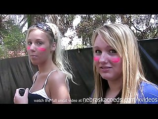 Naked girls paint ball guns for radio show shock jock like howard stearn bubba
