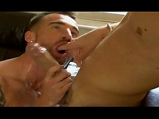 Suck the milkman amazing deepthroat face fucking
