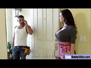 Busty housewife ariella ferrera like hard style intercorse on cam movie 05