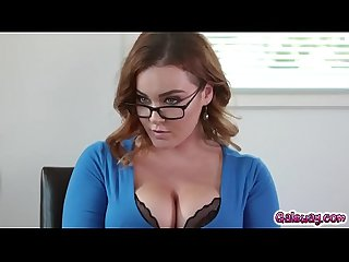 Georgia Jones and Natasha Nice roleplay as husband and wife!