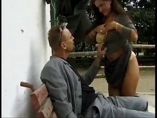 Sandra brust in die gutsherrin scene 1 by saamba