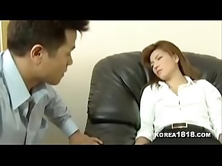 Hot Korean Office Lady Fucked