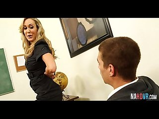 One and one fuck with sexy busty teacher brandi love