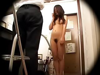 Japanese shoplifter caught and punished