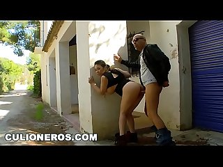 CULIONEROS - Asian Babe From London, Tigerr Benson, Loves Fucking Outdoors