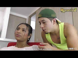 MAMACITAZ - Big Ass Latina Indira Uma Banged Hard By Her Eager BF