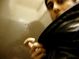 Blowjob in public toilets