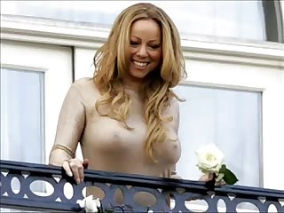 Mariah Carey Showing her big breasts ( Hot Horny Photos)