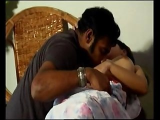 Beautiful indian girl with big nipples fucks her husband