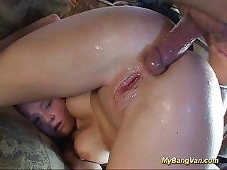 Extreme anal bangvan fuck orgy