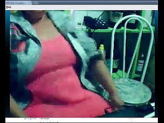 Brazilian granny on webcam