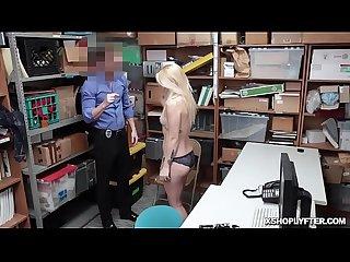 Officer gives Carmen hardcore fucking