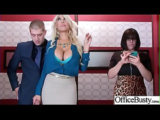 Hard sex tape in office with big round tits sexy girl bridgette B video 06