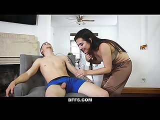 Bffs sleepwalking step bro fucked by bffs