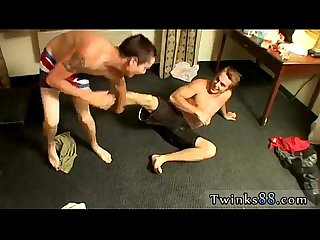 Naked man gay porno sex eating ass Kelly & Grant - Undie Wrestle