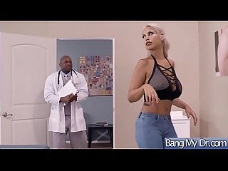 Gorgeous Slut Patient (Bridgette B) Seduce And Bang With Doctor mov-11