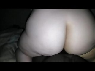 Chunky cheating wife taking his first bbc