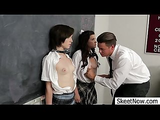 Threeway lesson shelby good and allison rey