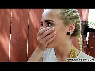 Pierced nose Naomi Woods banged for cash