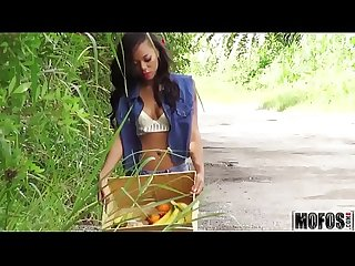 Picking up an ebony teen video starring diamond monrow mofos period com