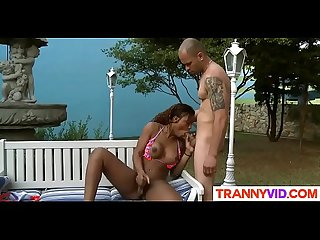 Tranny Viviane Silva Is Ready For Action