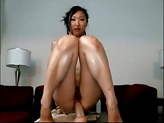Skinny Japanese Webcam Model Riding A Dildo - BasedCams.com