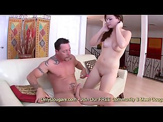 Teen Alison Rey Lets Step Daddy Hit It Doggystyle