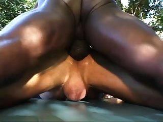 Creampie interracial fucking breeding