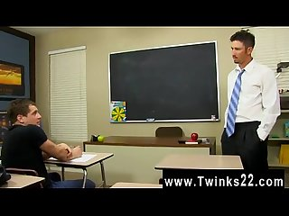 Gay video Danny Brooks finds his student, Max Martin, putting in some