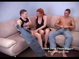 Redhead milf is fun to fuck
