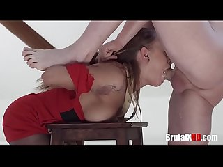 Gorgeous Painter Brutally Assfucked