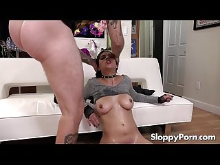 Sloppy submissive young slut gabriela lopez