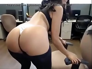 Hot latina masturbating on cam watch more at www roxicams com