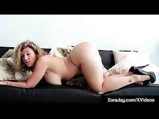 Milf Sex Queen Sara Jay Fucks Herself With 2 Vibes To Orgasm