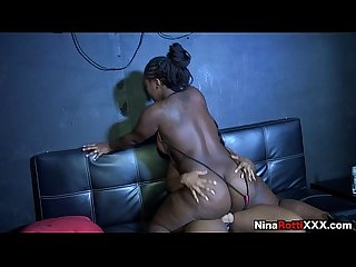 Nina Rotti First TIme Strapping up-trailer