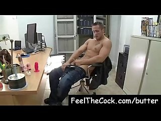Gay Butter loads gay studs fuck to film Vid 19