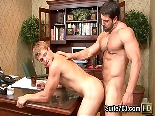 Horny Gays landon and vince suck cocks only on suite703