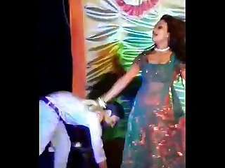 Indian street Mujra dance