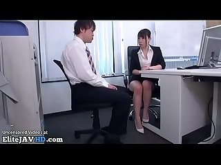 Japanese secretary office foot fetish more at elitejavhd com