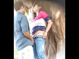 Desperate indian lovers public sex