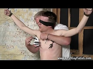 farm gay porn movies with his sensitive balls tugged and his